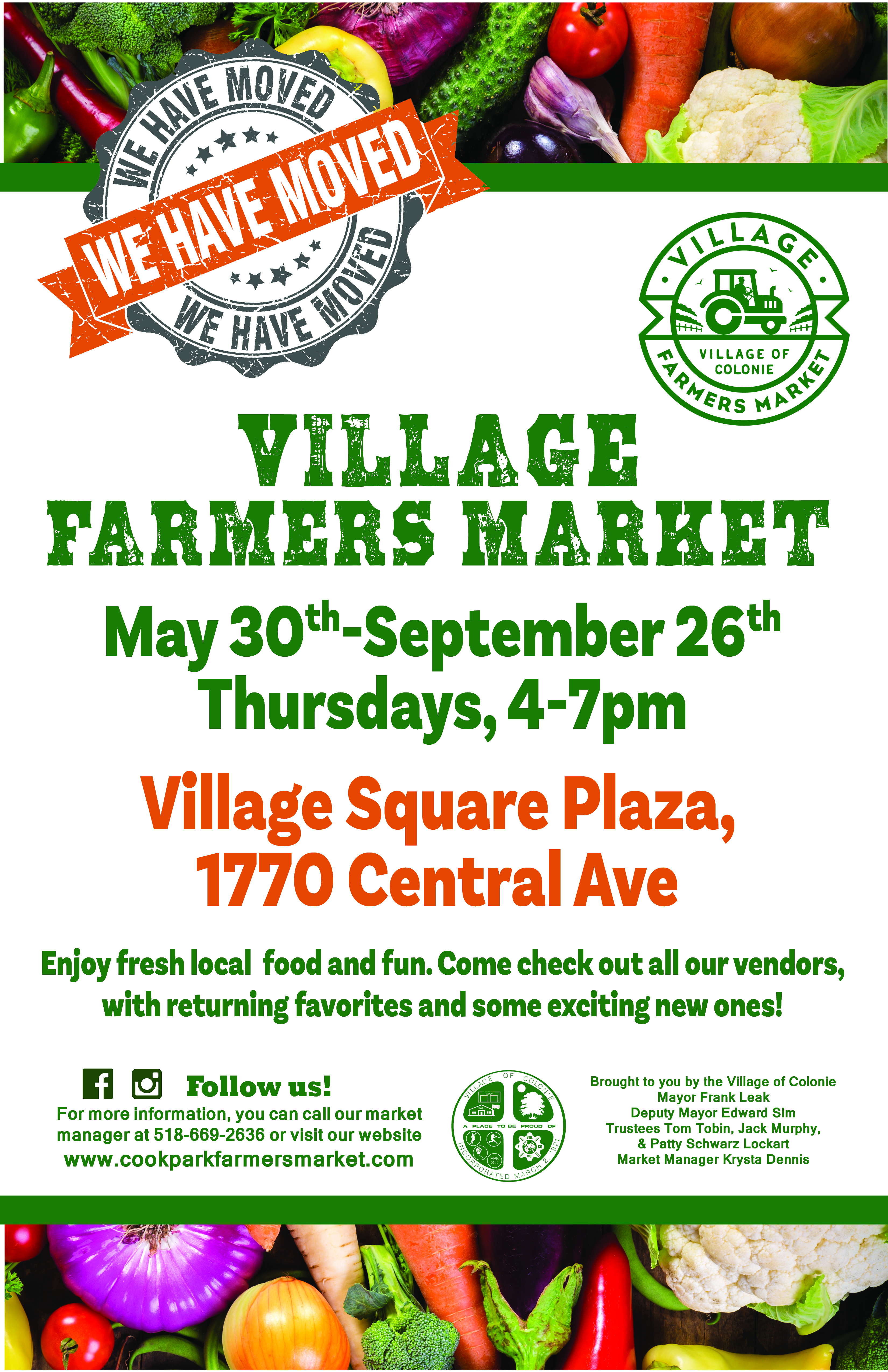 Village Farmers Market @ Village Square Plaza