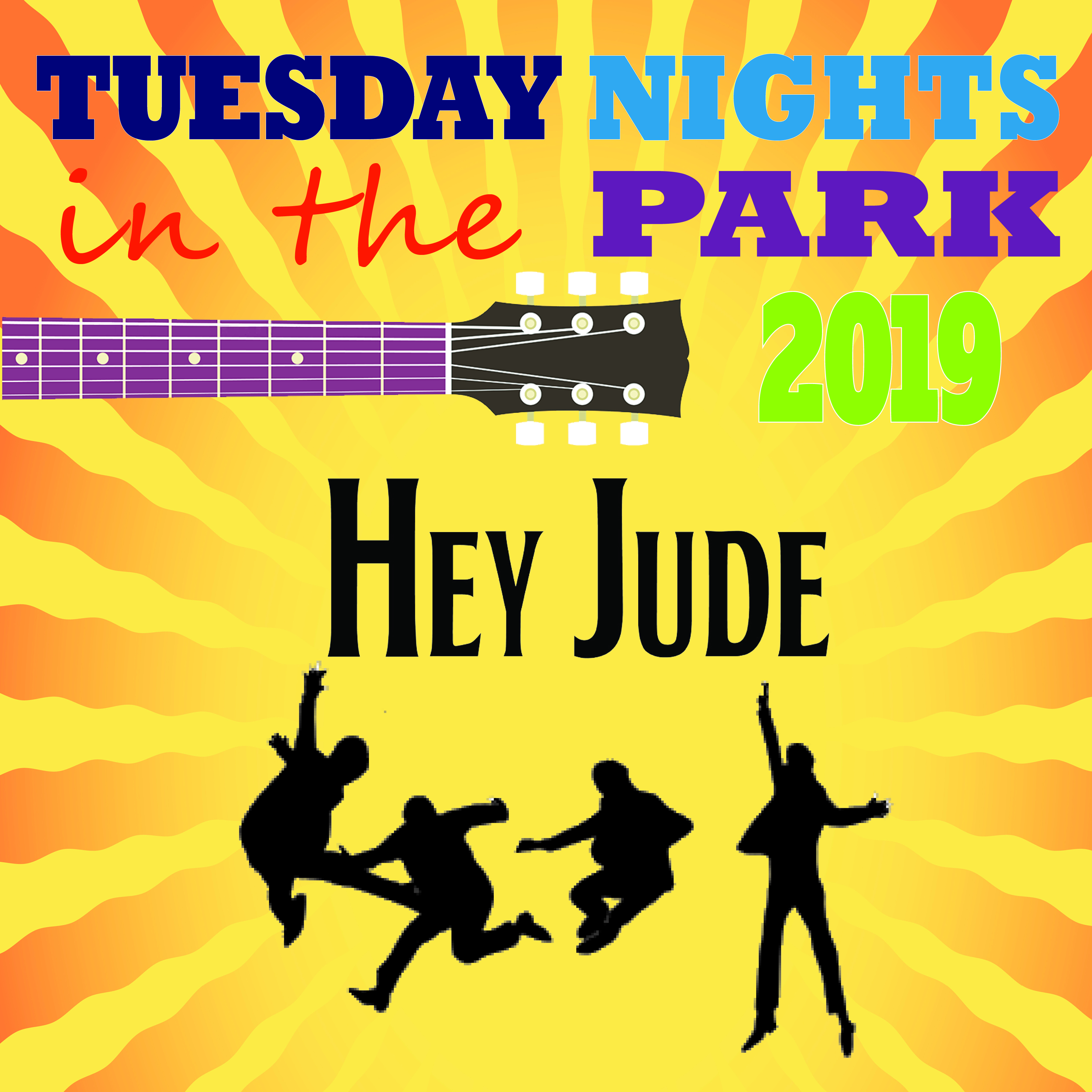 Tuesday Nights in the Park Concert - Hey Jude @ Cook Park, Frank A Leak Amphitheater for the Arts