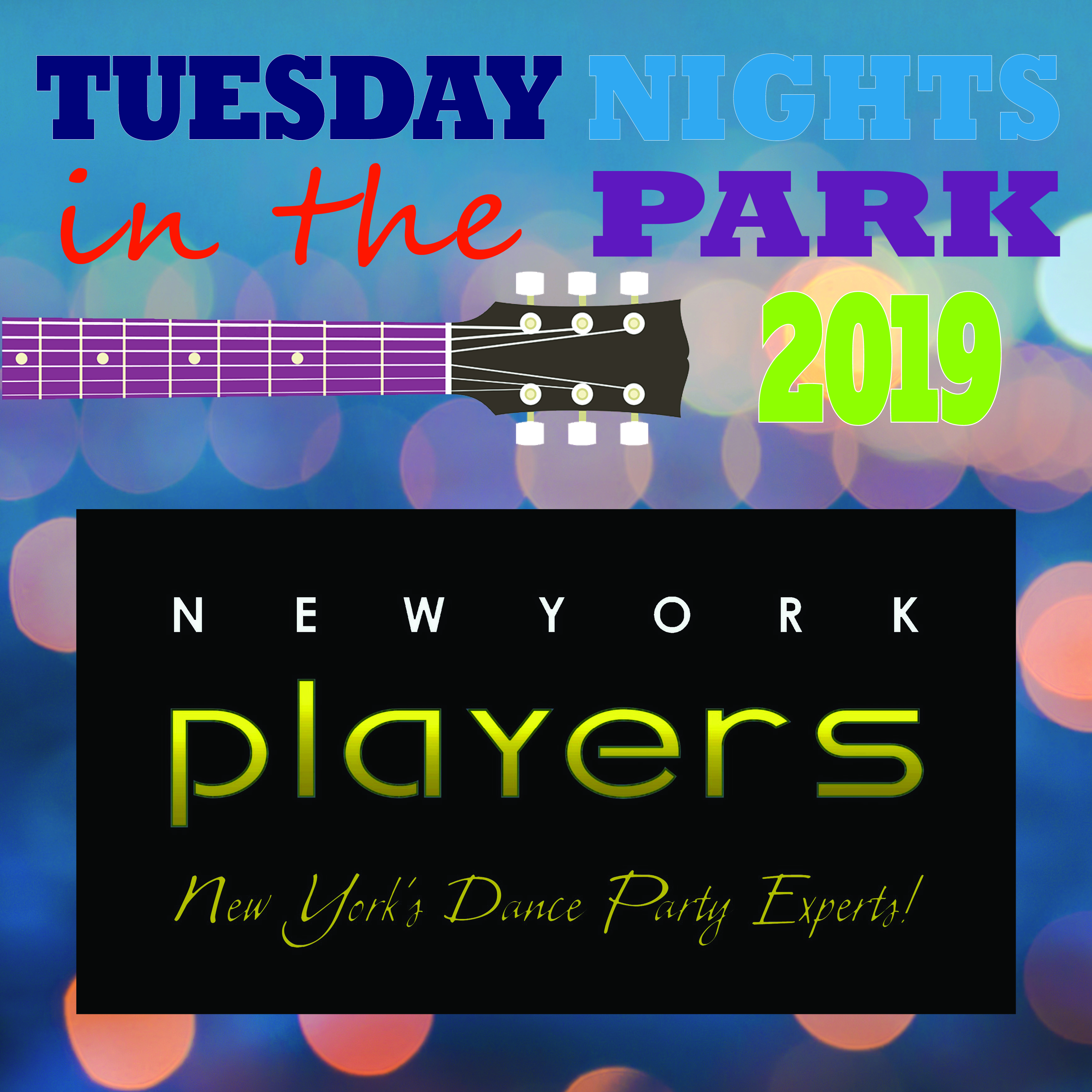 Tuesday Nights in the Park Concert - New York Players @ Cook Park, Frank A Leak Amphitheater for the Arts