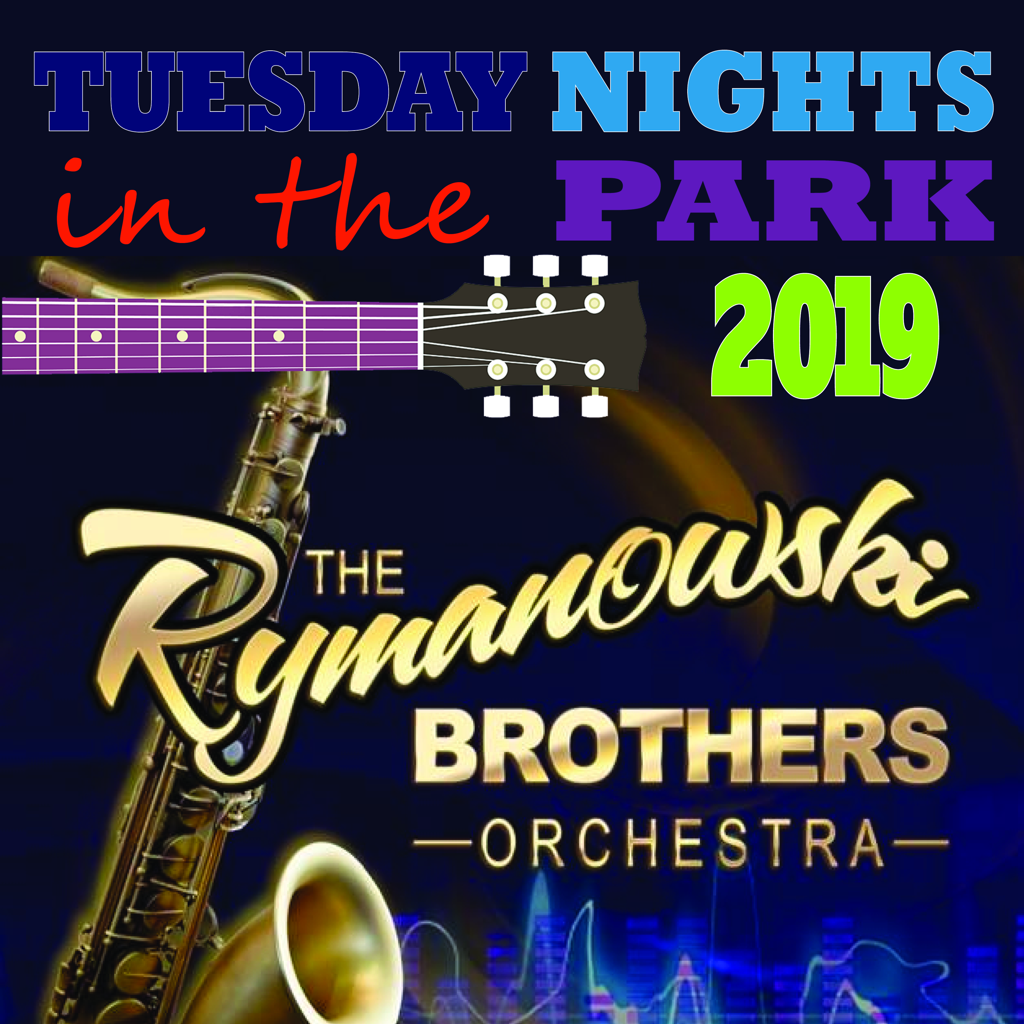 Tuesday Nights in the Park Concert - The Rymanowski Brothers @ Cook Park, Frank A Leak Amphitheater for the Arts