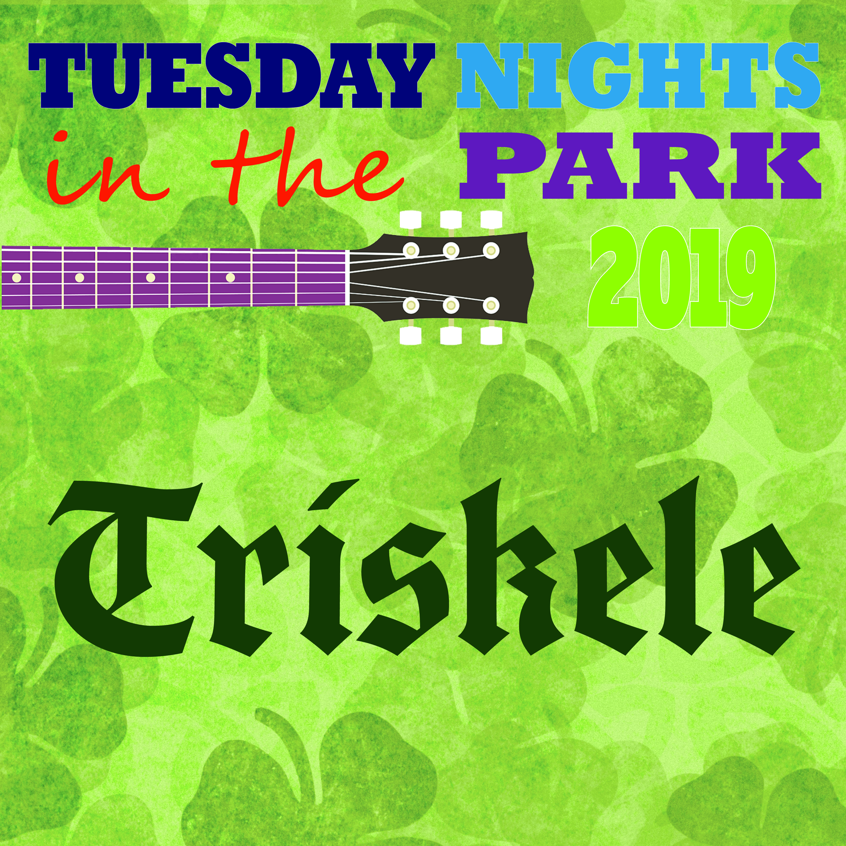 Tuesday Nights in the Park Concert - Triskele @ Cook Park, Frank A Leak Amphitheater for the Arts
